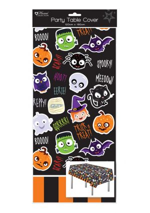 Halloween Party Plastic Tablecover