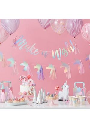 Iridescent Unicorn Party - Quick Buy