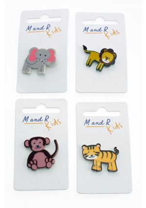 Jungle Animal Pin Badge