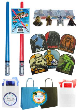 The Retro Star Wars Party Bag