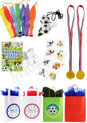 The Striker Football Party Bag