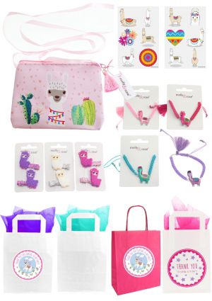 Pretty Llama Party Bag