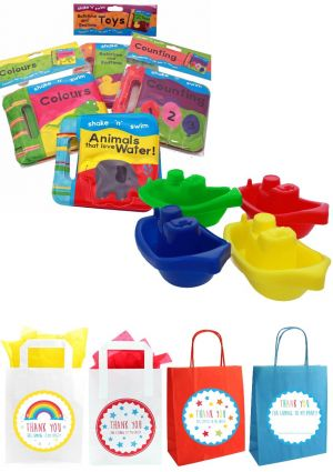 The Bathtime Rattle Book Party Bag