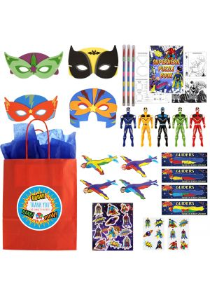 The Luxury Bumper Superhero Party Bag