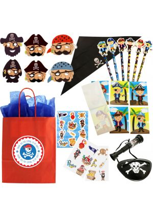 The Luxury Long John Silver Pirate Party Bag