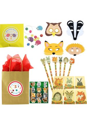 The Luxury Woodland Deluxe Party Bag