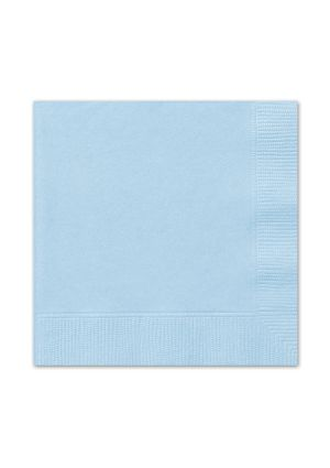 Powder Blue Lunch Napkins 20pk