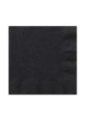 Black Lunch Napkins 20pk