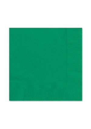 Emerald Green Lunch Napkins 20pk