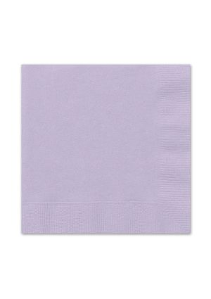 Lavender Lunch Napkins 20pk