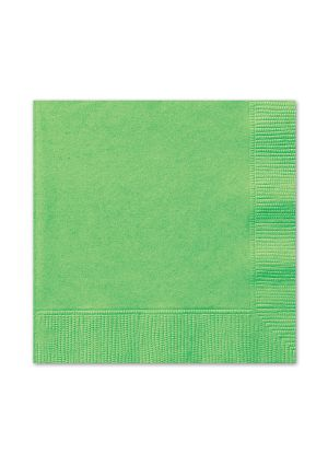 Lime Green Lunch Napkins 20pk