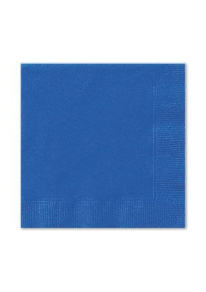 Royal Blue Lunch Napkins 20pk