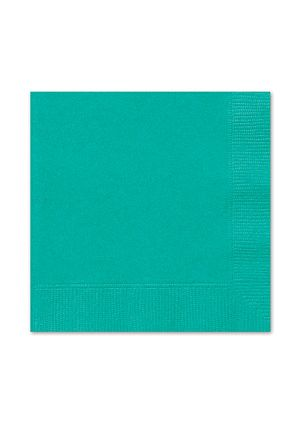 Teal Lunch Napkins 20pk