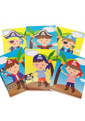 Pirate Memo Pad