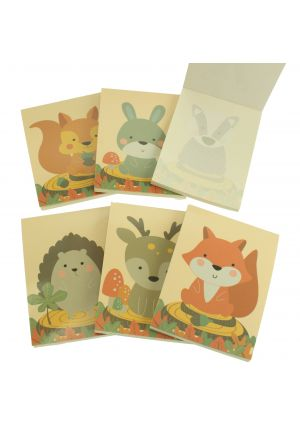 Woodland Friends Memo Pad