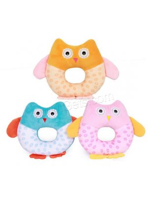 Owl Shake & Rattle Baby Toy