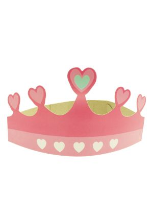 Princess Heart Paper Tiara