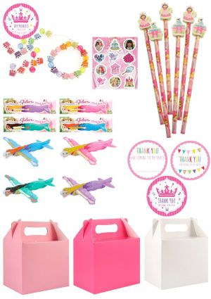 The Pretty Princess Party Box