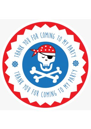 Pirate Party Label