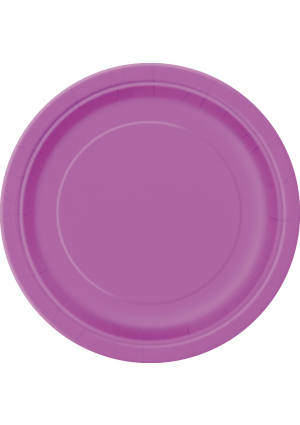 Pretty Purple Paper Plates 22cm - 16pk