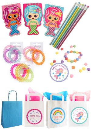 The Pretty Mermaid Party Bag