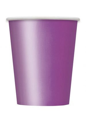 Pretty Purple Paper Cups