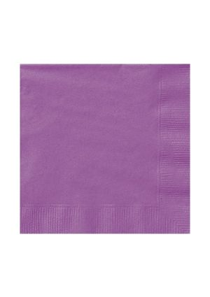 Pretty Purple Lunch Napkins 20pk