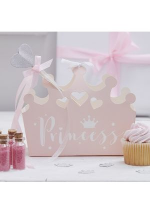 A Pack of 5 Princess Perfection Party Boxes - 5pk