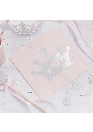 Princess Perfection Party Napkins - 16pk