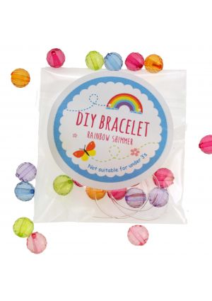 Rainbow Shimmer DIY Bracelet Set