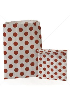Red Spotty Treat Bag