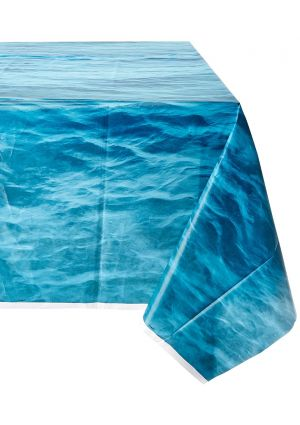 Ocean Waves Plastic Tablecover