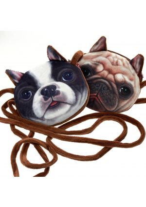 Pug or French Bulldog Shoulder Bag