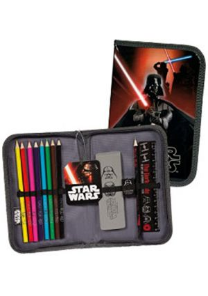 Star Wars Classic Hardback PreFilled Pencil Case