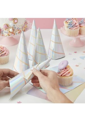 Iridescent Unicorn Party Paper Napkins